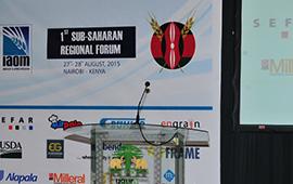 1st Sub Saharan Regional Forum Kenya 2015